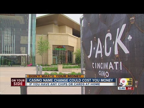 Casino name change could cost you money