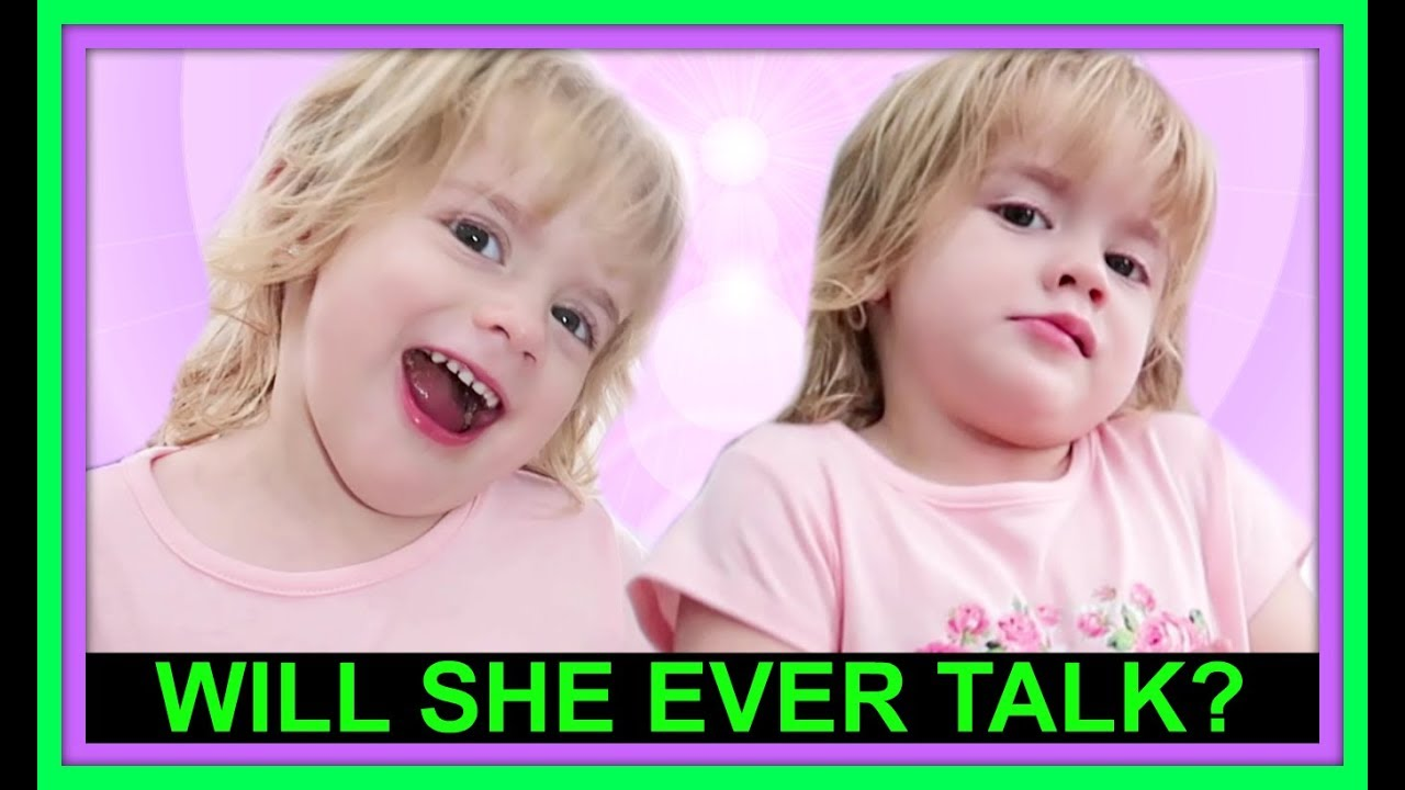 WILL SHE EVER TALK?!?   VERBAL VS NON-VERBAL   SPECIAL NEEDS   APRAXIA OF SPEECH