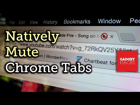 Enable Native Tab Audio-Muting in Google Chrome [How-To]