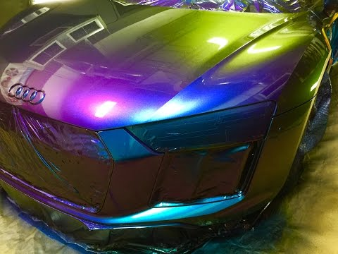 The Craziest Car Paint in the World