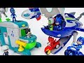 Romeos Sleeping Gas Is Coming Fly PJ Masks HQ Rocket ToyMart TV
