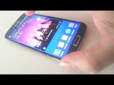 TouchWiz auf dem Samsung Galaxy S4