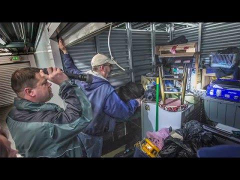 Bidders discover trash and treasure in abandoned storage lockers