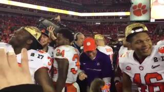 TigerNet - Ben Boulware tells future Tigers to carry on winning tradition