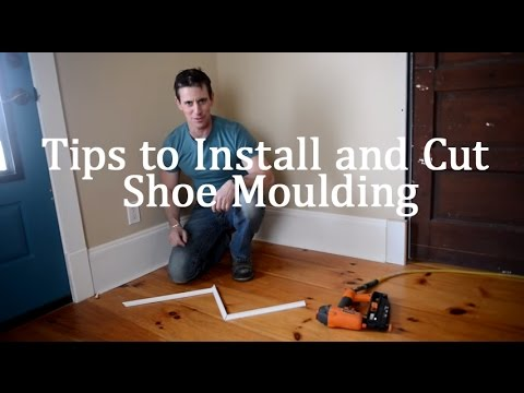 Tips to Install and Cut Shoe Moulding