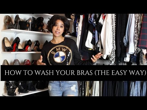 2 Easy Ways To Wash Your Bras