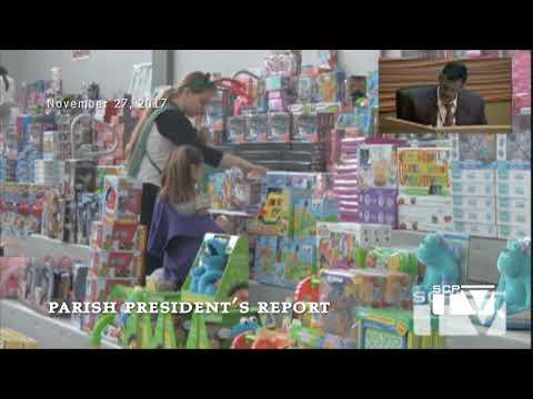 Parish President's Report for November 27, 2017