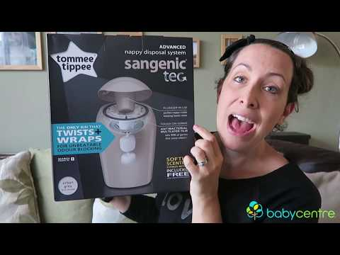 Tried and tested: Tommee Tippee Sangenic Tec Nappy Disposal System (Sponsored)