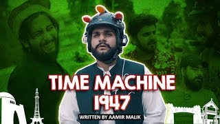 TIME MACHINE 1947 | Comedy Sketch | Karachi Vynz Official