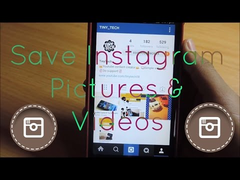 How To SAVE Photos Or Videos on Instagram (Android)