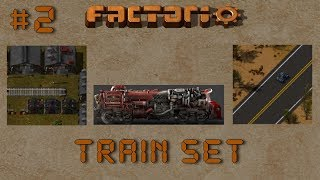 Factorio: Train Set Ep3: Oil Outpost Design! - Multiplayer