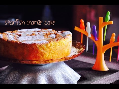 Spanish Orange Cake with Almonds | Gluten Free Fatless Cake |Recipes 'R' Simple