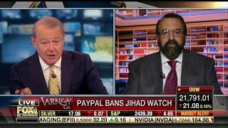 Robert Spencer on Fox's Varney & Co. on PayPal and Leftist censorship
