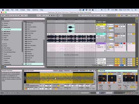 Cashmere Cat Vocal Technique Tutorial Ableton Live