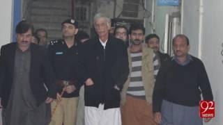 CM KPK Pervaiz Khatak take action on police  - 11-12-2016 - 92NewsHD