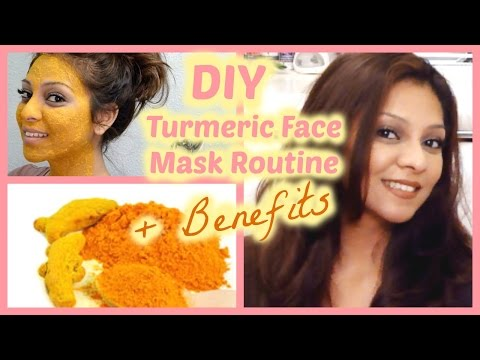 DIY Turmeric Face Mask for Flawless Skin, Acne, Erase Wrinkles & Scars │ Turmeric Benefits