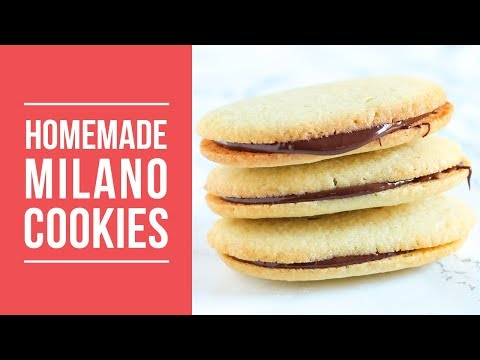 Homemade Milano Cookies | DIY Copycat Recipe!