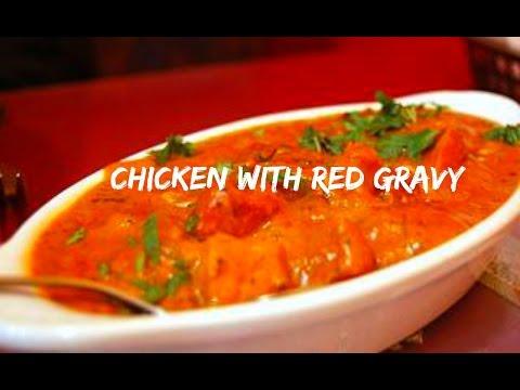 Dum ki Laal Murgh/Chicken with Red Gravy| Foodchen by Sana