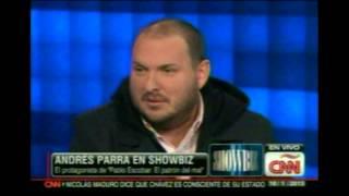 ANDRES PARRA  HABLA SU PROTANIZACION  DE ESCOBAR EL PATRON DEL MAL