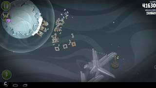 Angry Birds Space Mirror Worlds Cold Cuts Mirror World Level M2 16 154870