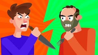 YOU vs HANNIBAL LECTER Can You Defeat and Survive Him? (Movie Character) | FUNNY ANIMATION CHALLENGE