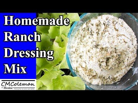 DIY Dry Ranch Salad Dressing Mix