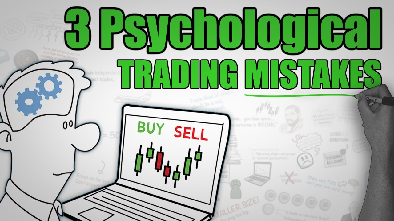 3 Common Psychological TRADING Mistakes