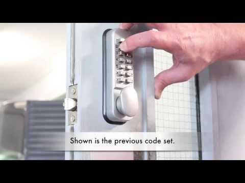 Changing the Code on a Digi-pad Lock