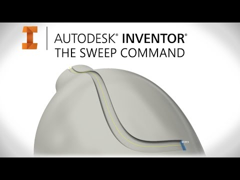 How to Sweep | Autodesk Inventor
