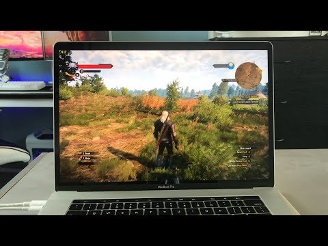 Gaming on the new MacBook Pro 15