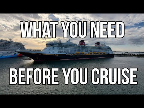 What To Buy and Bring On Your Next Cruise