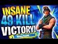 Download Video Download CRAZY 49 KILL SQUAD WIN! (Fortnite Battle Royale) 3GP MP4 FLV