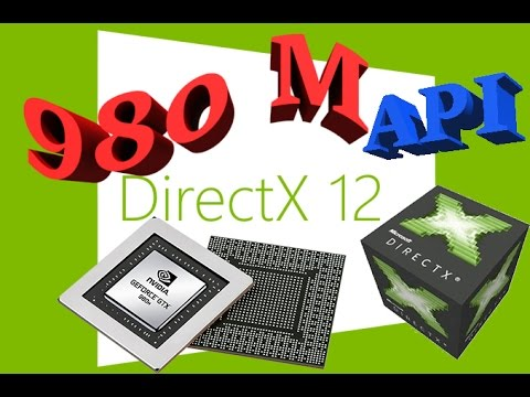 WINDOWS 10 | DX12 | API OVERHEAD TEST | GTX  980 M | BENCHMARK