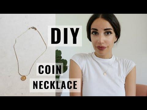 DIY COIN NECKLACE | KAREN OR