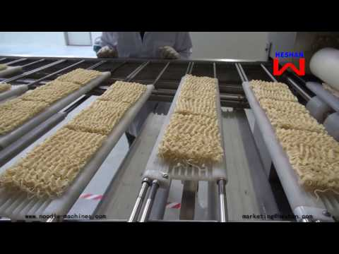 Automatic Dried Noodle Production Line in Germany - Heshan Machinery