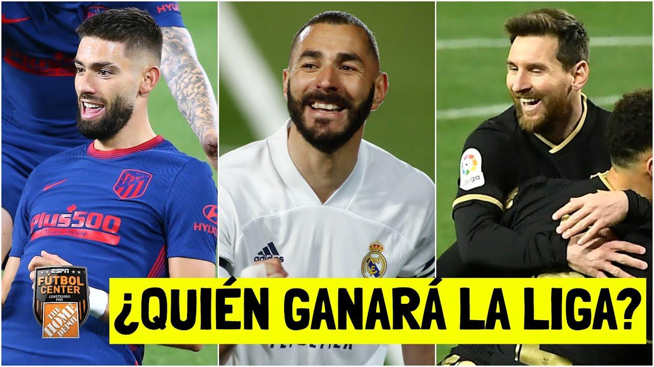 LA LUCHA POR LA LIGA Real Madrid, Barcelona y Atlético de Madrid. ¿Cuál es favorito? | Futbol Center
