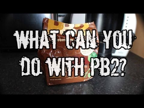 What Can You Do With PB2 ( Powdered Peanut Butter )