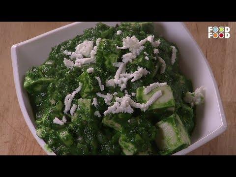 Palak Paneer Tofu | Go Healthy | Chef Sanjeev Kapoor | FoodFood