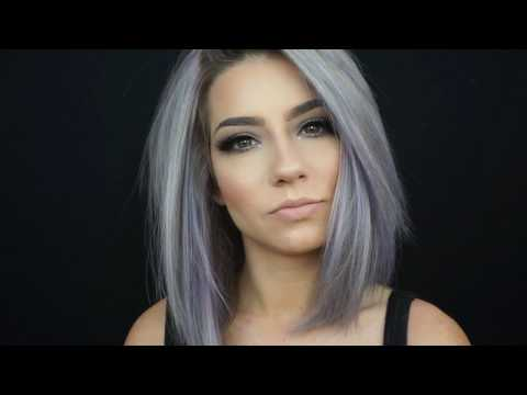 How I Colour My Hair At Home | Pastel Periwinkle