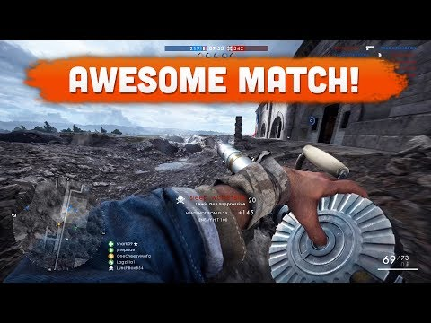 AWESOME MATCH! - Battlefield 1 | Road to Max Rank #99
