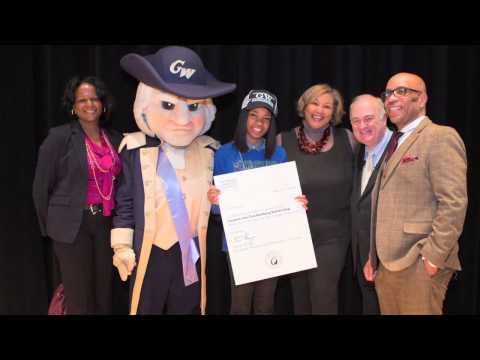 The George Washington University Stephen Joel Trachtenberg Scholarship 2014 Awards