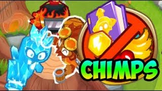 How To Beat CHIMPS on Hedge in Bloons TD 6