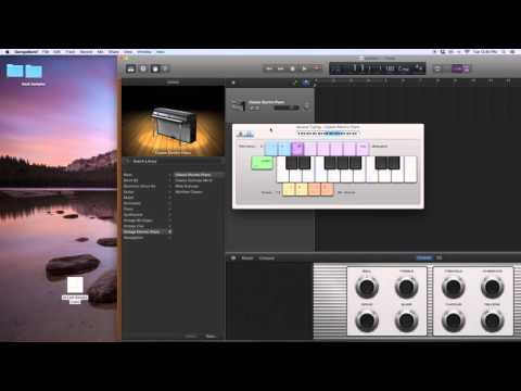 How to Import Samples in the New Garageband