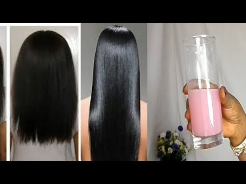 MY GRANDMA'S SECRET RECIPE TO REGROW A LONG AND BLACK HAIR IN 15 DAYS