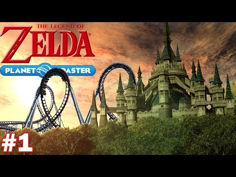 Let's Build a Legend of Zelda Roller Coaster - Part 1 (Planet Coaster Let's Build)