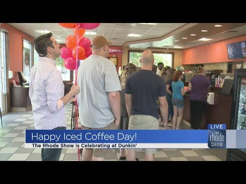 The Rhode Show - Iced Coffee Day open