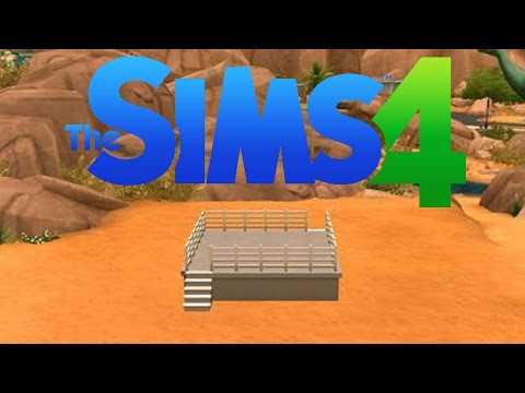 How to make a wrestling ring in SIMS 4