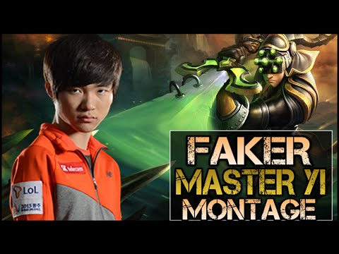 Faker Montage - Master Yi Highlights