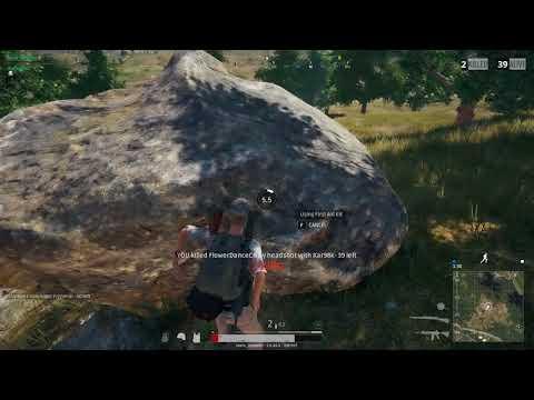 PUBG Kar98 double kill