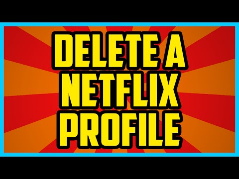 How To Delete A Netflix Profile 2017 (QUICK & EASY) - How To remove A Netflix Profile